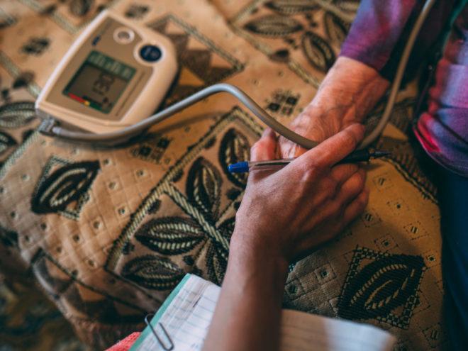 Помощь пожилым и людям с инвалидностью